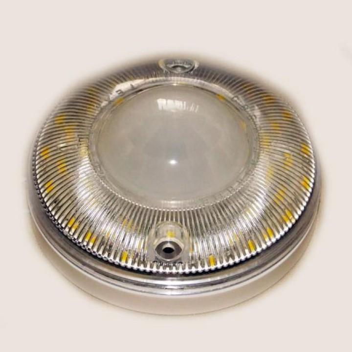 Светодиодный светильник со встроенным датчиком движения и ночным дежурным режимом «SIMA-Д-Н» дпо 01-7-002