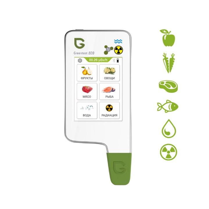 Greentest ECO 6 — Нитрат-тестер, измеритель жесткости воды и дозиметр