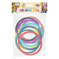 Пластик для 3D-рисования 3D-MIX PCL