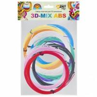 Пластик для 3D-рисования 3D MIX ABS / PLA / WATSON